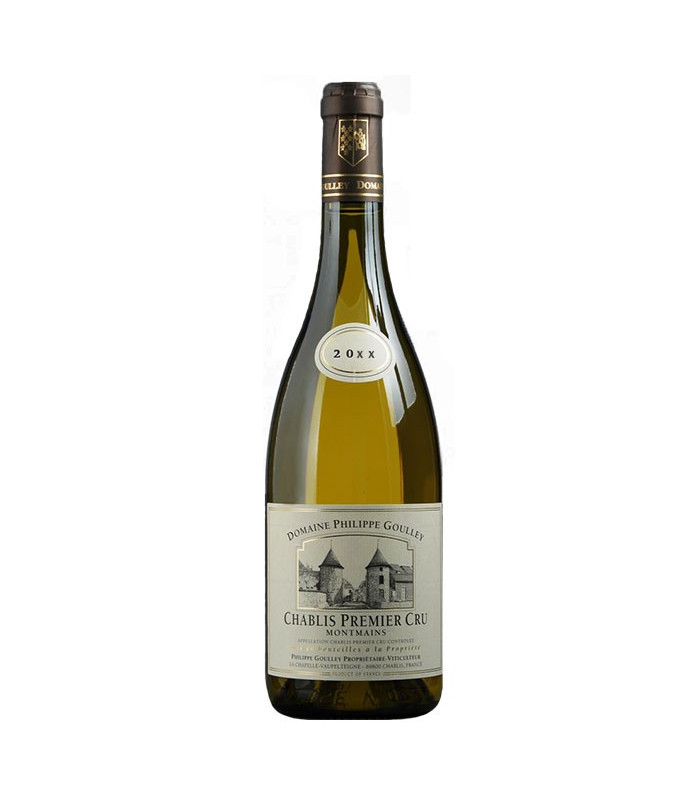 """Domaine Philippe Goulley - 1er Cru """"les Montmains"""" 2012"""