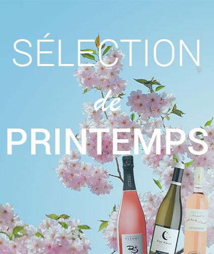 Sélection de vin de printemps